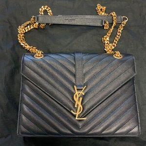 YSL medium envelope bag